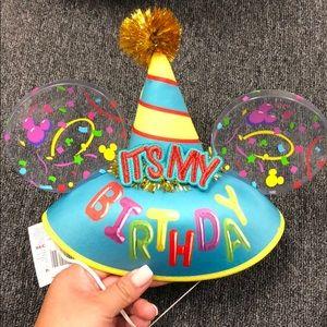 "Mickey ears ""it's my birthday"""